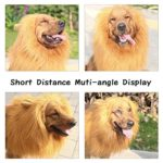 YOUTHINK-Lion-Mane-for-Dog-Large-Medium-with-Ears-Pet-Lion-Mane-Costume-Button-Adjustable-Holiday-Photo-Shoots-Party-Festival-Occasion-Light-Brown-0-3