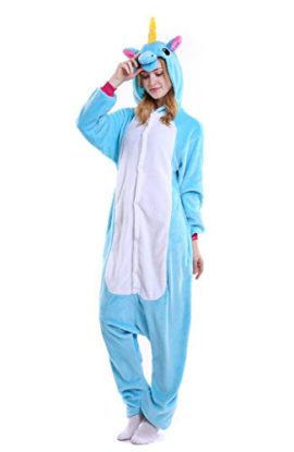 Yutown-Adult-Unicorn-Pajamas-Animal-Costume-Cosplay-Onesie-Halloween-Gift-0