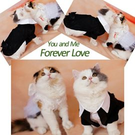 iPet-Handsome-Prince-Cat-Bridegroom-Wedding-Tuxedo-Faux-Twinset-Design-Small-Boy-Dog-Formal-Attire-Doggy-Party-Wear-Puppy-Birthday-Outfit-Doggie-Photo-Apparel-with-Buttons-Holiday-Fabric-Clothes-Hallo-0-0