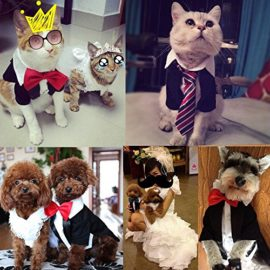 iPet-Handsome-Prince-Cat-Bridegroom-Wedding-Tuxedo-Faux-Twinset-Design-Small-Boy-Dog-Formal-Attire-Doggy-Party-Wear-Puppy-Birthday-Outfit-Doggie-Photo-Apparel-with-Buttons-Holiday-Fabric-Clothes-Hallo-0-5