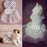 iPet-Princess-Floral-Cat-Party-Bridal-Wedding-Dress-Small-Dog-Flower-Tutu-Ball-Gown-Puppy-Dot-Skirt-Doggy-Photo-Apparel-Stretchy-Clothes-Mesh-Costume-for-Spring-Summer-Wear-0-2