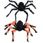 2PCS-35-INCH-Halloween-Decoration-Virtual-Realistic-Hairy-Spider-0