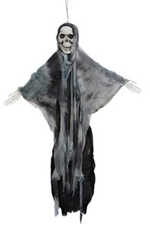 35-Inch-Hanging-Fabric-Poseable-Skull-Ghost-Halloween-Decoration-0