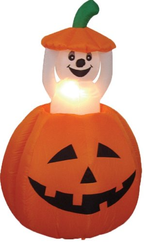 4-Foot-Animated-Halloween-Inflatable-Pumpkin-and-Ghost-Yard-Garden-Decoration-0