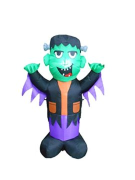 4-Foot-Tall-Halloween-Inflatable-Frankenstein-Party-Yard-Decoration-0