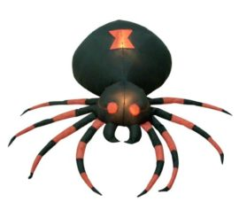 4-Foot-Wide-Halloween-Inflatable-Black-Spider-Yard-Decoration-0