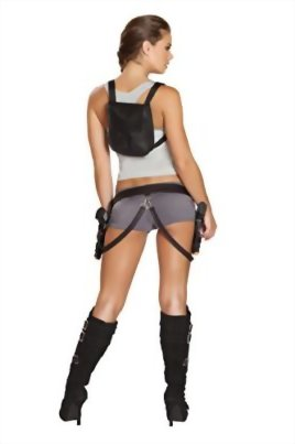 5-Piece-Tomb-Raider-Fighter-Lara-Croft-Cosplay-Top-Booty-Shorts-Costume-0-0
