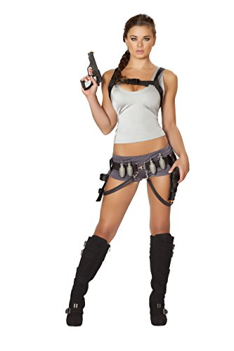 5-Piece-Tomb-Raider-Fighter-Lara-Croft-Cosplay-Top-Booty-Shorts-Costume-0