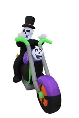 6-Foot-Long-Halloween-Inflatable-Skeleton-Riding-on-Motorcycle-Party-Yard-Decoration-0-0