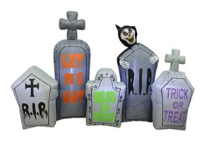7-Foot-Long-Lighted-Halloween-Inflatable-Tombstones-Pathway-Scene-Haunted-House-Prop-Grim-Reaper-Indoor-Outdoor-Yard-Decoration-0