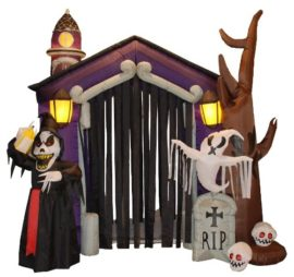 85-Foot-Halloween-Inflatable-Haunted-House-Castle-with-Skeletons-Ghost-and-Skulls-Yard-Decoration-0