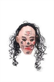 Adult-Halloween-Horror-Vampire-Dracula-Face-Mask-Scary-Party-Role-Play-With-Wig-0