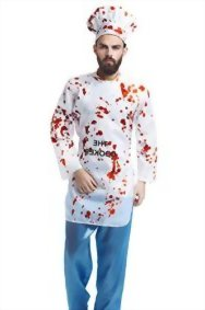 Adult-Men-Bloody-Cook-Costume-Zombie-Chef-Killer-Baker-Butcher-Dress-Up-Role-Play-0