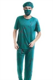 Adult-Men-Evil-Surgeon-Halloween-Costume-Bloody-Scrubs-Killer-Doctors-Dress-Up-0