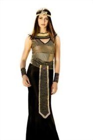 Adult-Women-Cleopatra-Nefertiti-Nile-Queen-Costume-Cosplay-Role-Play-Dress-Up-0