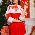 Adult-Women-Miss-Santa-Costume-With-Cape-Role-Play-Christmas-New-Year-Dress-Up-0-0