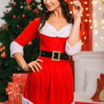 Adult-Women-Miss-Santa-Costume-With-Cape-Role-Play-Christmas-New-Year-Dress-Up-0-2