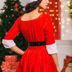 Adult-Women-Miss-Santa-Costume-With-Cape-Role-Play-Christmas-New-Year-Dress-Up-0-3