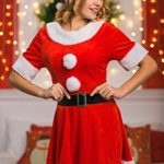 Adult-Women-Sweet-Miss-Mrs-Santa-Costume-Role-Play-Christmas-New-Year-Dress-Up-0-0