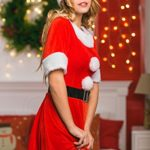 Adult-Women-Sweet-Miss-Mrs-Santa-Costume-Role-Play-Christmas-New-Year-Dress-Up-0-2