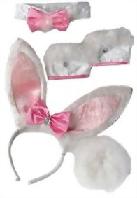 Amscan-Womens-Halloween-Costume-Accessory-Kit-Bunny-0