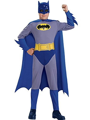 Batman The Brave and The Bold Batman Costume with Mask and Cape