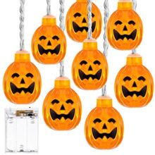 Battery-Operated-Pumpkin-String-Lights-DecorNova-20-LEDs-Indoor-Fairy-Lights-Jack-O-Lantern-for-Halloween-Festival-Party-Decorations-107-Feet-Warm-White-0