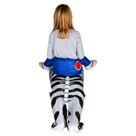 Bodysocks-Inflatable-Zebra-Piggyback-Animal-Zoo-Childrens-Fancy-Dress-Costume-0-1