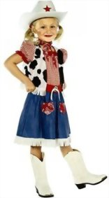 Boy-Girls-Wild-West-Cowboy-Cowgirl-Woody-Jessie-Book-Fancy-Dress-Costume-Age-7-9-0