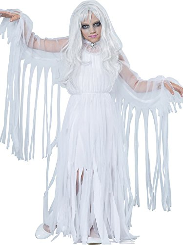 California Costumes Ghostly Girl Child Costume