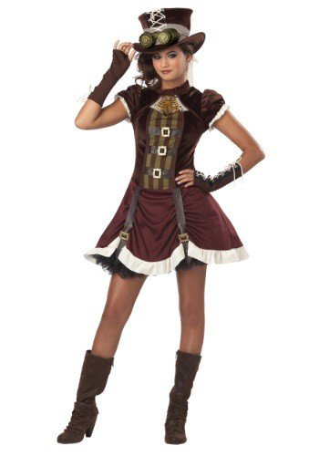 California Costumes Steampunk Girl Tween Costume