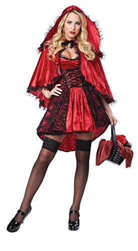 California Costumes Women's Deluxe Red Riding Hood