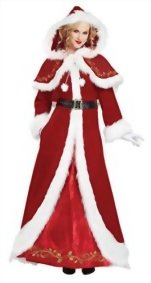 California-Costumes-Womens-Mrs-Claus-Deluxe-Adult-0