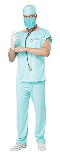 California-Costumes-mens-Adult-Dr-Bloodbath-Costume-0