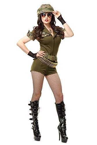 Charades Women's Sgt. Stunning Costume