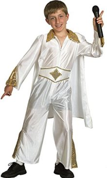 Childrens-1950s-Musical-Fancy-Dress-Party-Boys-Rock-Star-Costume-Outfit-Xl-0
