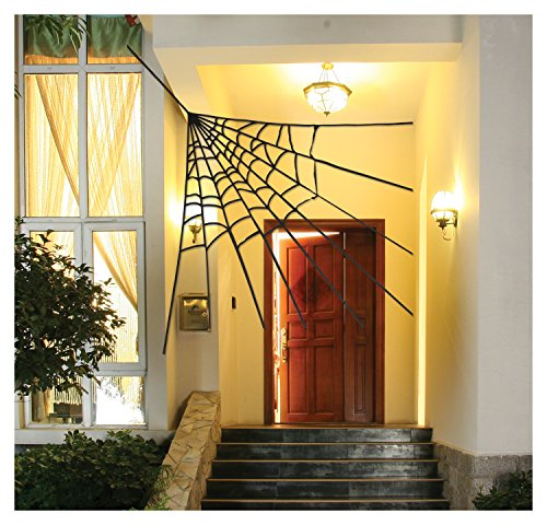 Corner Spider Web Decoration