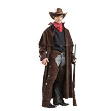 Cowboy-Deluxe-Adult-Designer-Costume-Size-38-40-Small-0