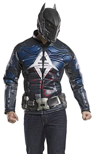 DC Comics Men's Arkham Knight Muscle Chest Costume Top