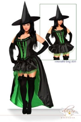 Daisy-Corsets-Womens-5-Piece-Sexy-Wicked-Witch-Costume-0-0