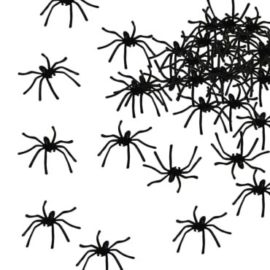 Dazzling-Toys-Realistic-Halloween-Spiders-Pack-Of-72-Great-Party-Decoration-0