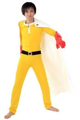 De-Cos-One-Punch-Man-OPM-Cosplay-Costume-Caped-Baldy-Saitama-Fighting-Outfit-V1-0-0