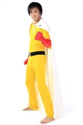 De-Cos-One-Punch-Man-OPM-Cosplay-Costume-Caped-Baldy-Saitama-Fighting-Outfit-V1-0-1