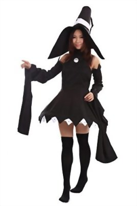 De-Cos-Soul-Eater-Cosplay-Costume-Cat-Witch-Blair-Outfit-1st-Version-Set-0-0