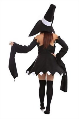 De-Cos-Soul-Eater-Cosplay-Costume-Cat-Witch-Blair-Outfit-1st-Version-Set-0-2