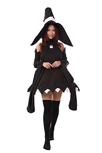 De-Cos-Soul-Eater-Cosplay-Costume-Cat-Witch-Blair-Outfit-1st-Version-Set-0