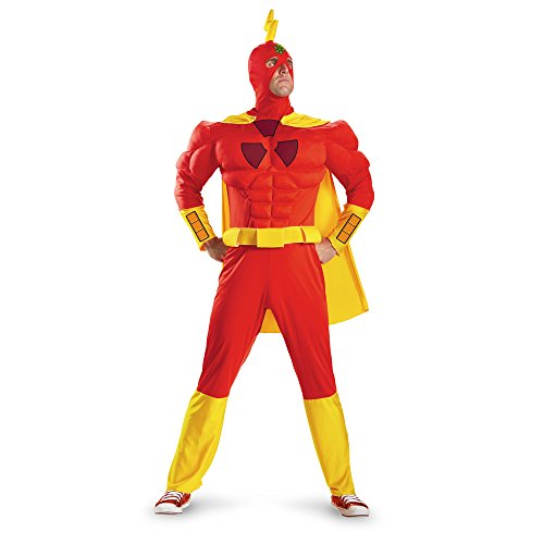 Disguise Costumes The Simpsons Radioactive Man Classic Muscle Mens Adult Costume