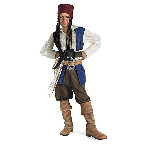 Disguise Disney Pirates Of The Caribbean Captain Jack Sparrow Classic Boys Costume
