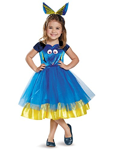 Disguise Dory Toddler Tutu Deluxe Finding Dory Disney/Pixar Costume