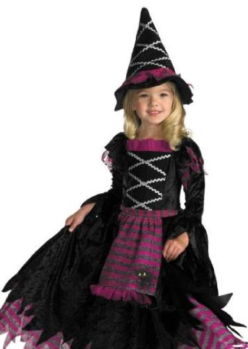Disguise Girls Fairytale Toddler Witch Costume